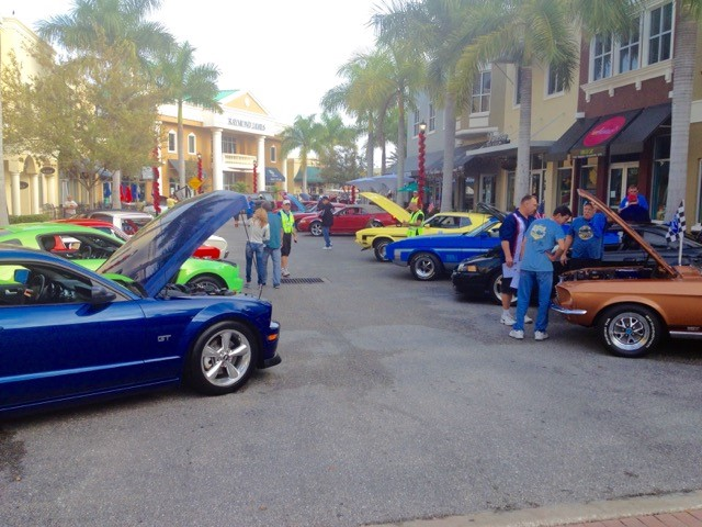 Ponies under the Palms Mustang and Ford Show