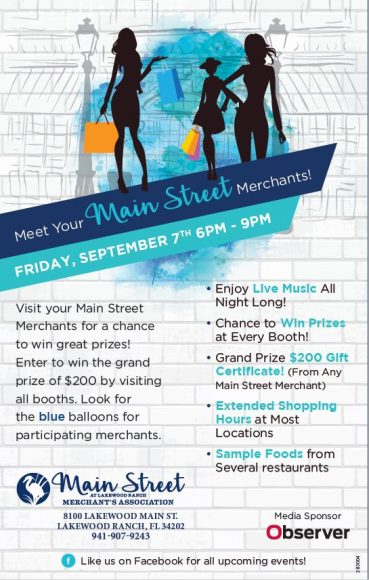 Meet Your Main Street Merchants Flyer