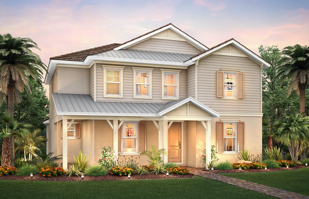 Summergate Home in Mallory Park - Homesite 154